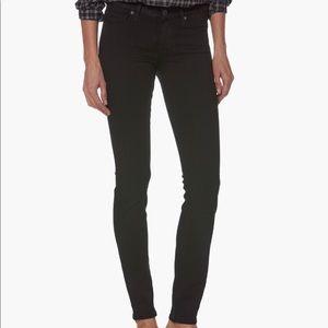 Paige Verdugo Ultra Skinny Jeans in black Size 27